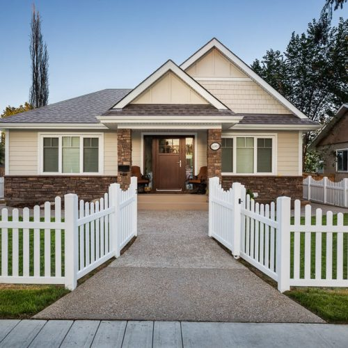 INFILL BUNGALOW – CUSTOM HOME